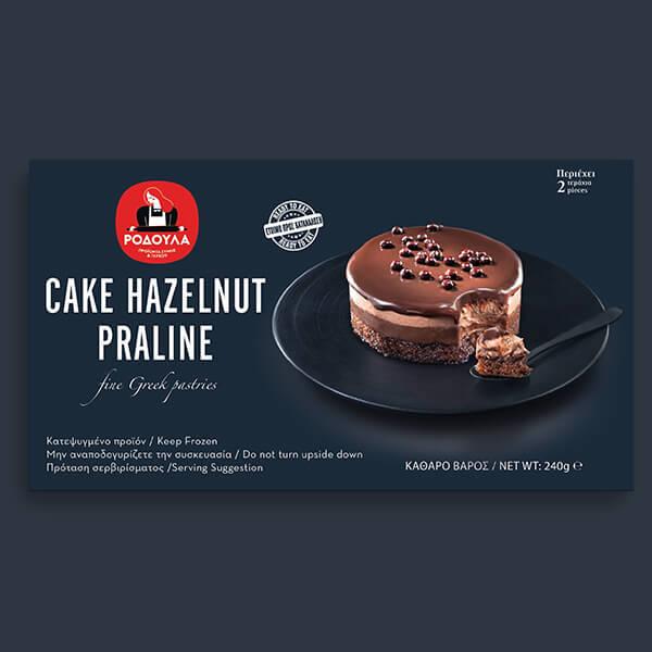 Cake Hazelnut Praline 2pcs