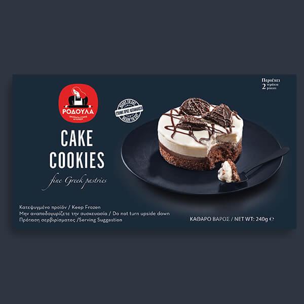 Cake Cookies 2pcs