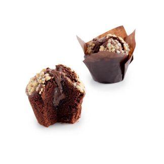 Muffin Γεμιστό Σοκολάτα Πραλίνα