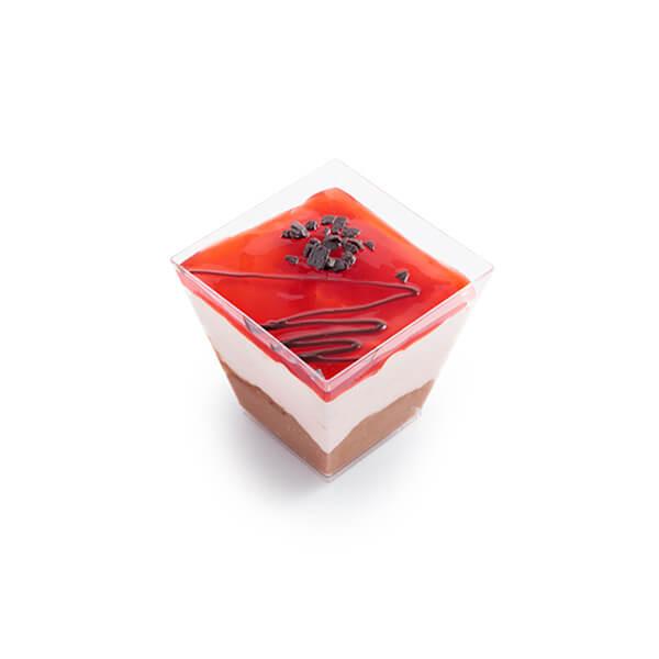 Μπωλ Σοκολάτα Φράουλα Με Καπάκι