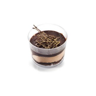 Bowl Chocolate Mousse Deluxe with Cover