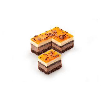 Πλάκα Σοκολάτα Πορτοκάλι 48τμχ