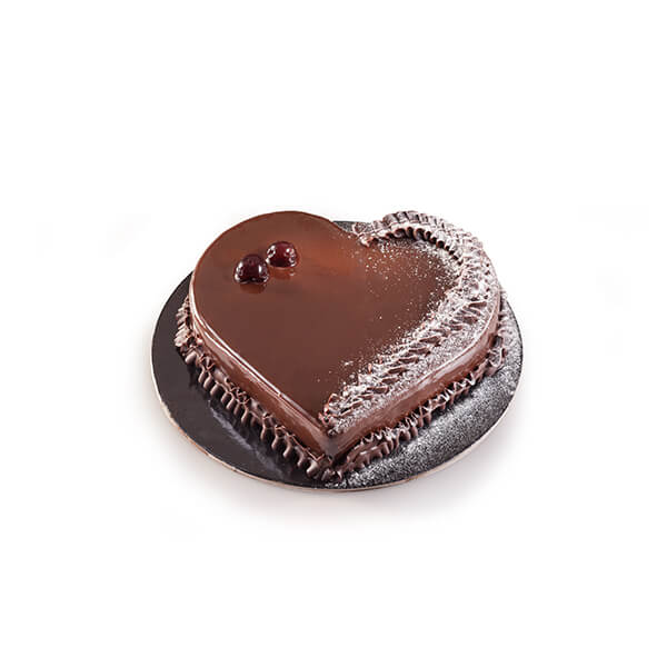 Cake Heart Black Forest