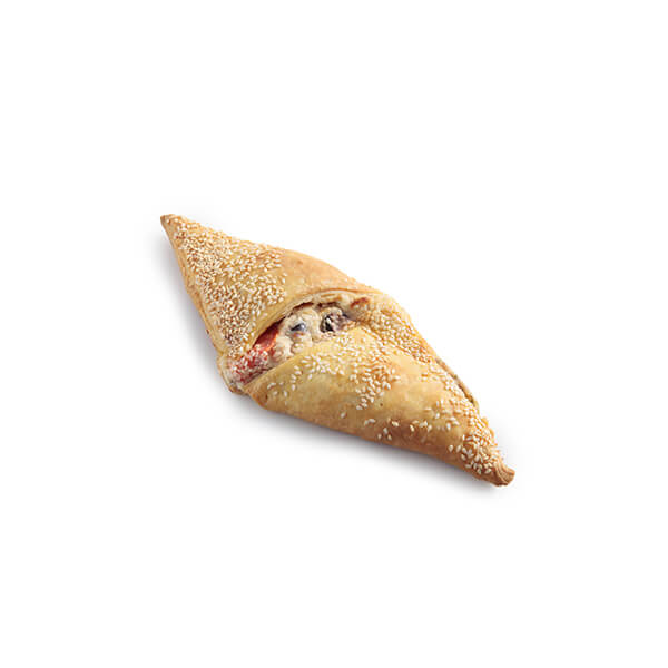 Τυρόπιτα Χωριάτικη Κουρού (Τυρί - Ντομάτα - Ελιά)