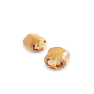 Double Sausage Pie Mini Brioche