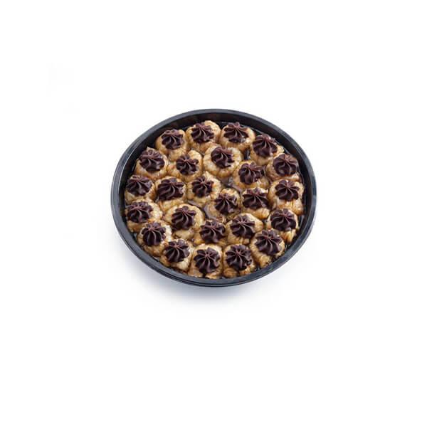 Μπακλαβαδάκι Φωλιά Σοκολάτα 25τμχ1kg Μεταλλικό Σκεύος