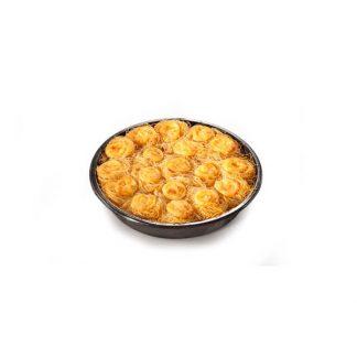 Γαλακτομπουρεκάκι  Φωλιά Καταΐφι 1kg 18τμχ (Πλαστικό Σκεύος)