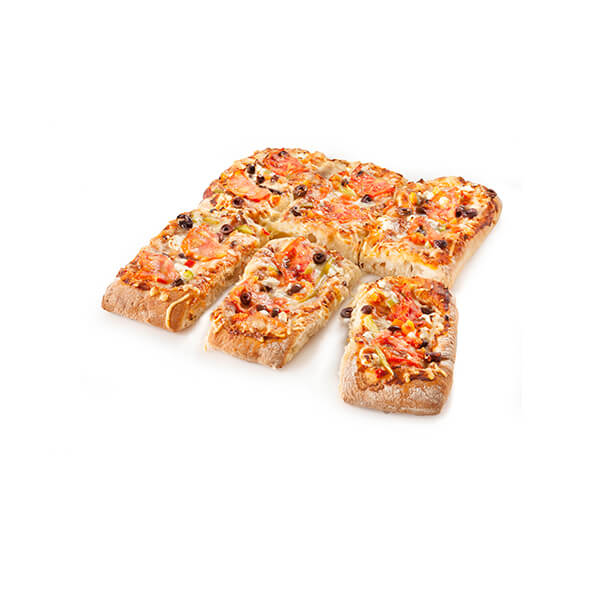 Traditional Pizza Rectangular 6pcs
