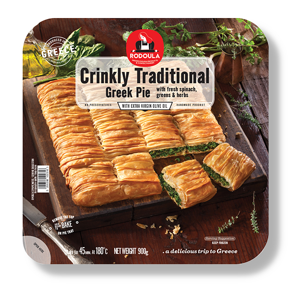 Greek Traditional Crinkly Spinach