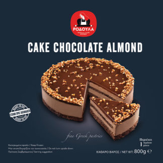 Cake chocolate almond-rodoula
