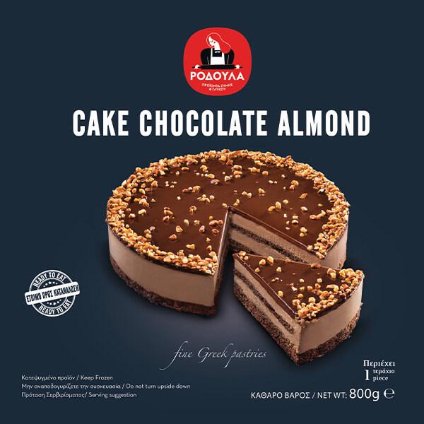 Cake Chocolate Almond