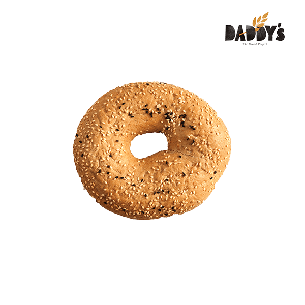 Daddy's   Κουλούρι Sandwich Ολικής Άσπρο-Μαύρο Σουσάμι